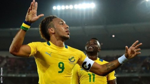 Gabon striker Pierre-Emerick Aubameyang