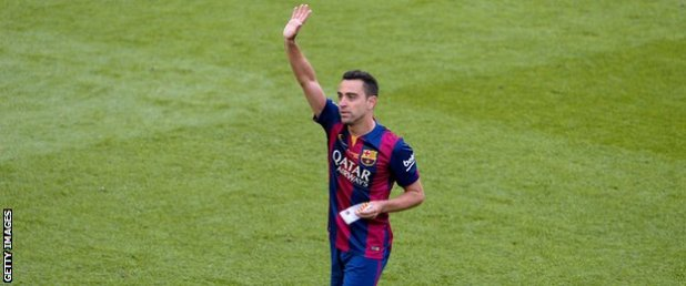 Xavi waves