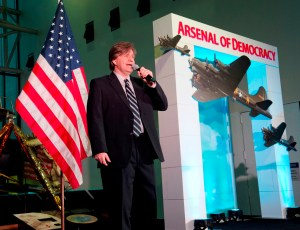 "The ""Arsenal of Democracy:  World War II Victory Gala"" is held at the National Air and Space Museum in Washington, DC on thursday, May 7, 2015.  The Gala is being held the night before an exceptional flyover of the National Mall by historic WWII aircraft. (James R. Brantley)"