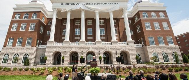 Johnson Center Unveiled