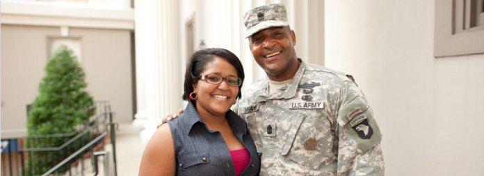 Veteran and Daughter