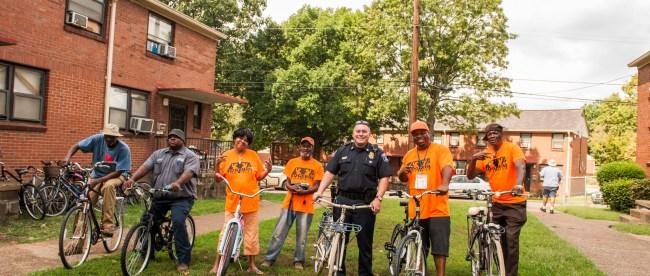 Edgehill bike donation
