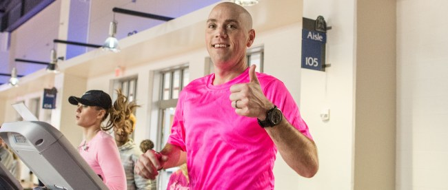 Jason Eads treadmill run