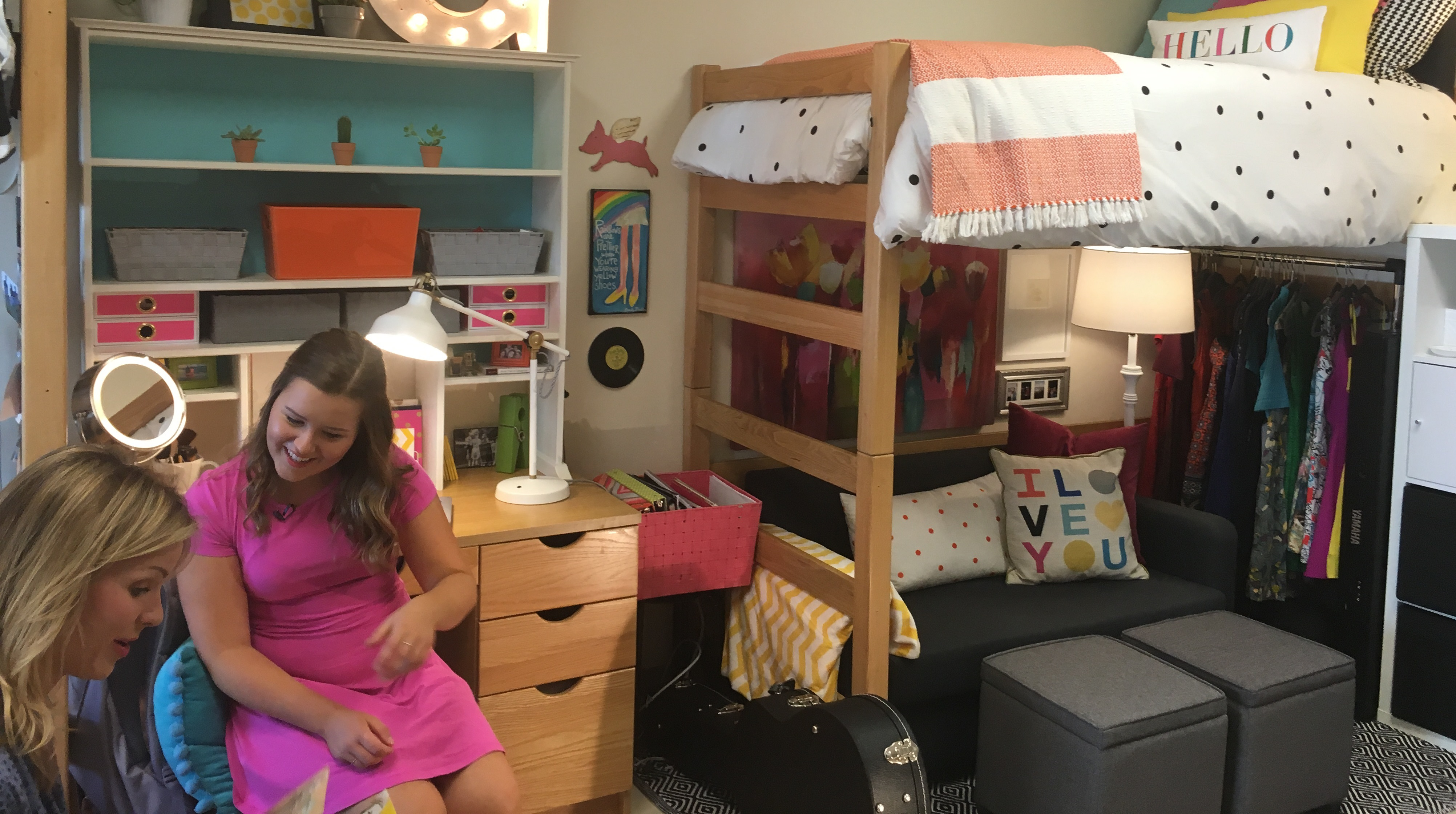 Gracie Schram, A Freshman From Kansas City, Was Recently Interviewed By  WKRNu0027s Samantha Fisher For Her Creatively Decorated Dorm Room And  Coordinating Music ...