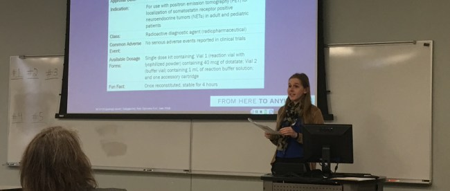 Presentations during College of Pharmacy's 4th annual Homecoming Continuing Education Event