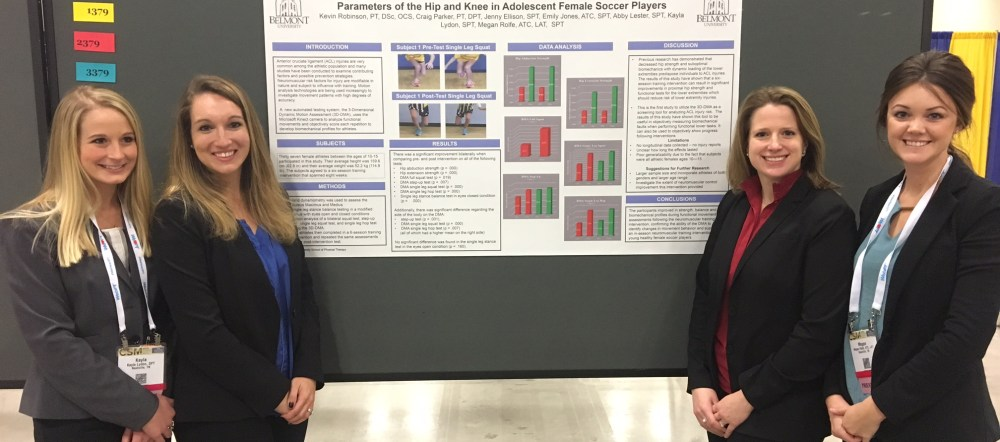 PT Students present at conference