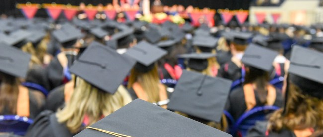 December Graduation at Belmont University in Nashville, Tenn. December 16, 2016.