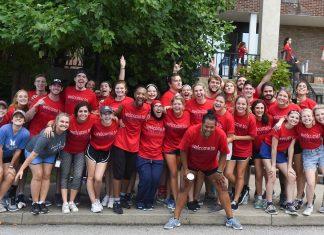 Move in day at Belmont University in Nashville, Tenn. August 18, 2017.