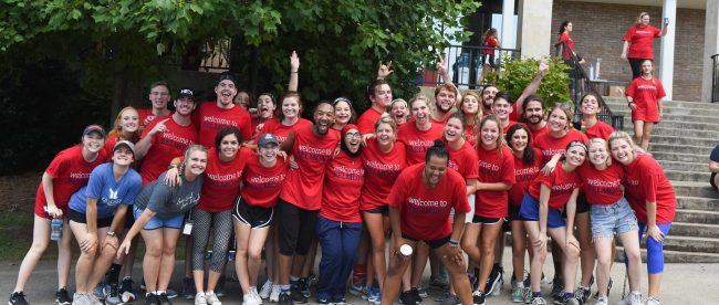 Move in day at Belmont University in Nashville, Tenn. August 18, 2017.