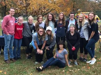 Participants at the Buddy Walk