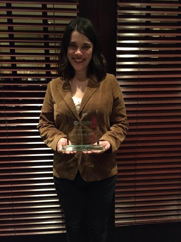 Erin Shankel MTAPN award