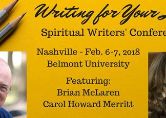 Writing for Your Life Conference Graphic