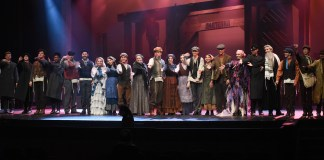 Fiddler on the Roof at Belmont University in Nashville, Tenn. November 7, 2017.