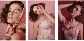 Jami-Lyn Fehr Fashion Pink Series PHOTOGRAPHY CAMPAIGN GOLD