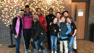 MLK Day of Service group shot