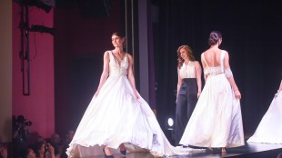 O'More College of Design Fashion Show, Franklin Theater in Franklin, Tennessee, May 10, 2018.