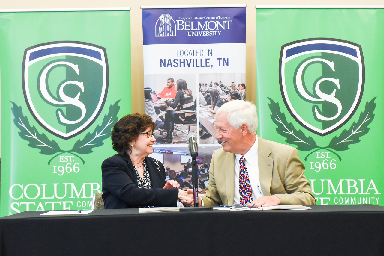 Belmont University, Columbia State Announce Degree Completion Program for Business Students