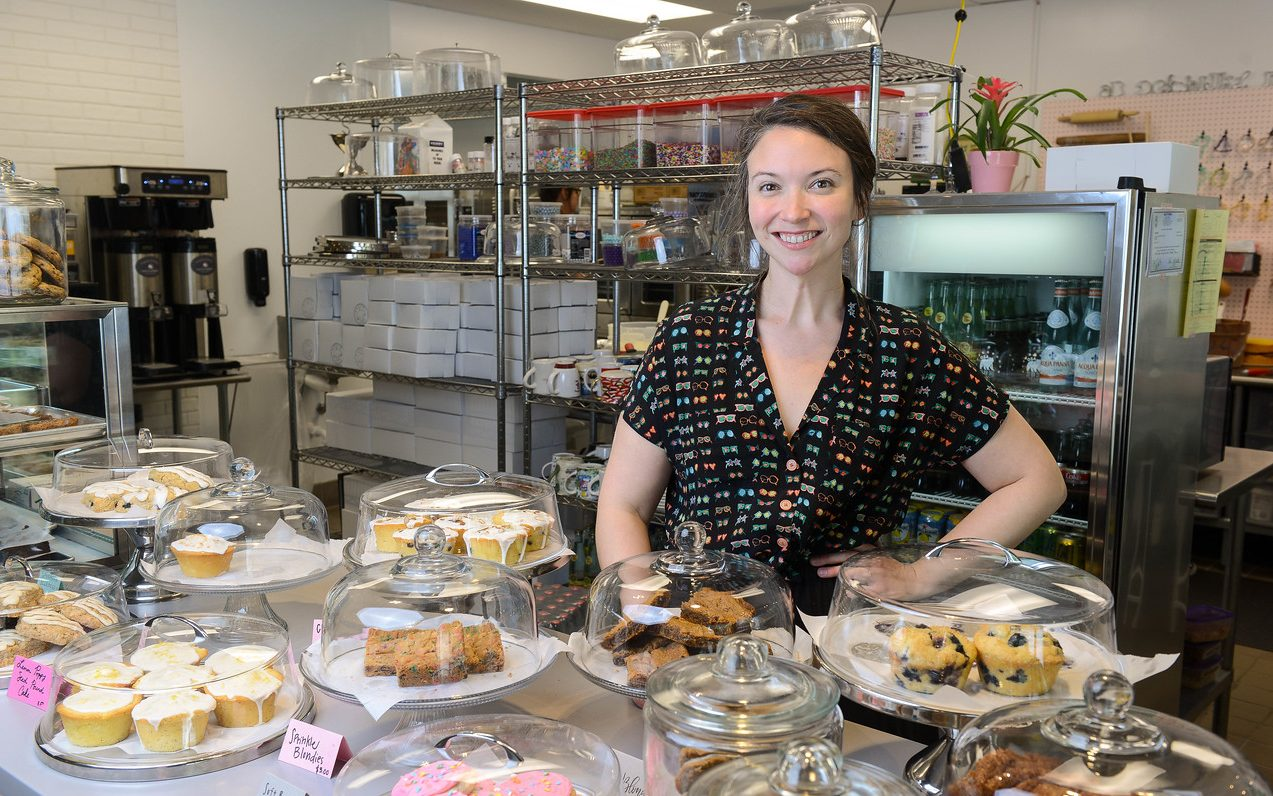 Leah Carmean, owner of Baked on 8th bakery