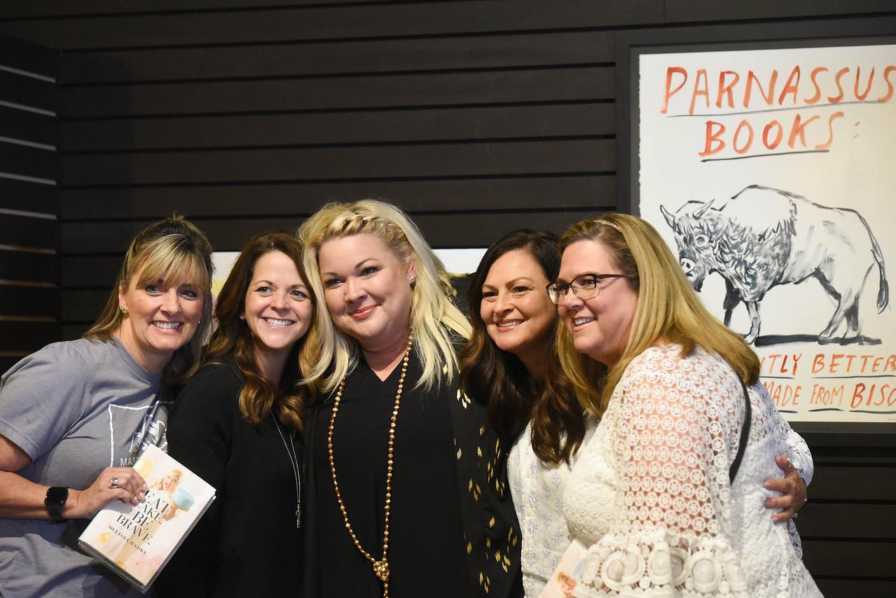 Book signing Eat Cake. Be Brave.