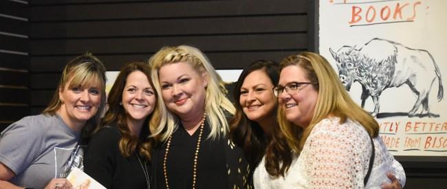 Melissa Radke does a booking signing event at Parnassus Books near Belmont University in Nashville, Tennessee, August 2, 2018. Radke is a Belmont Grad.