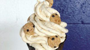 The Milky Way ice cream from Cosmic Creamery