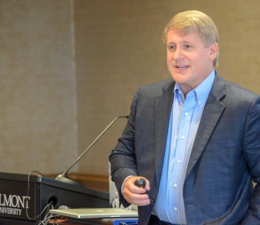 Dennis Cooke Speaks at Belmont University