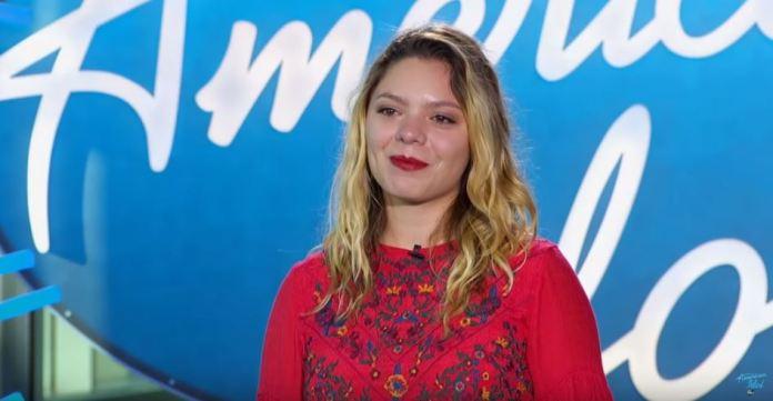Emma Kleinberg on American Idol