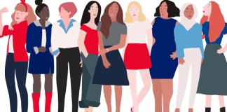 Women's history month graphic