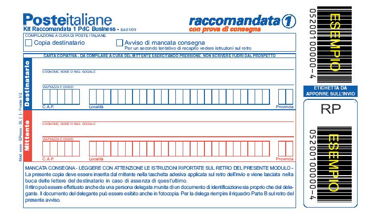 great prices exclusive deals exclusive shoes Raccomandata con ricevuta di ritorno: come farla e come funziona