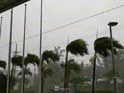 台風13号 宮古島に最接近 最大瞬間風速59.6m/s 13年ぶりの暴風
