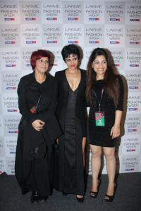 Mandira Bedi in a Photoshoot during Lakme Fashion Week 2012