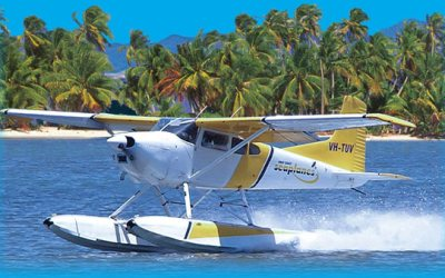 Seaplanes in India Kerala and Andaman