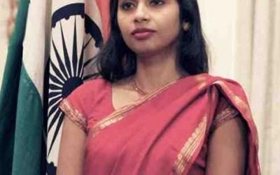 Devyani Khobragade IFS in Saree