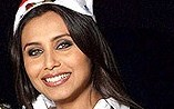 Rani Mukherjee in Santa Claus Cap