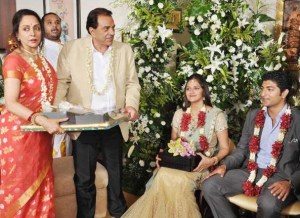 Engagement of Ahana Deol and Vaibhav Vohra in July 2013