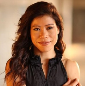MC Mary Kom posing for a Photoshoot