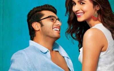 Arjun Kapoor and Alia Bhatt in 2 States