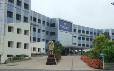 Jawaharlal Nehru University New Delhi Administrative Building