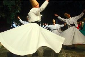 Participants at an International Sufi Festival