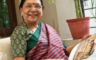 Anandiben Patel is the Chief Minister of Gujarat