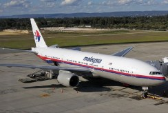 Malaysia Airlines Flight MH17 at Perth Airport