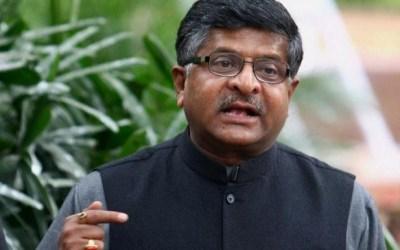 Ravi Shankar Prasad is a Union Minister in Modi's Cabinet