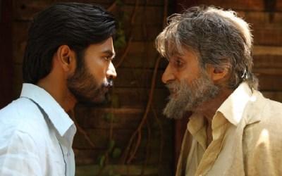 Amitabh Bachchan in a scene from Shamitabh