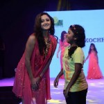 Rashmi Desai walking the Ramp for Archana Kochhar