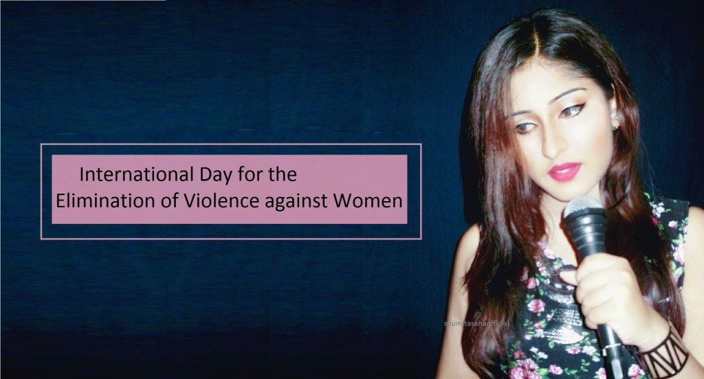 Soumita Saha campaign against Gender Violence