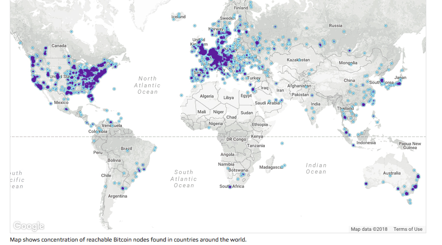 As Blockchains Grow Bigger, Full Node Counts Increase