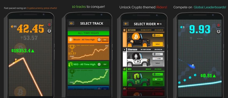 Jogos Cryptocurrency invadiram as lojas de aplicativos mais populares