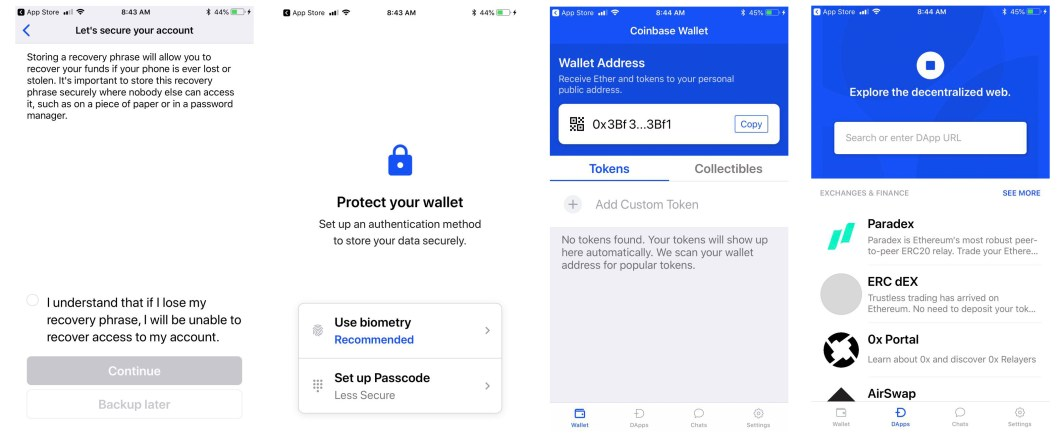 Testing the Newly Transformed Non-Custodial Coinbase Wallet