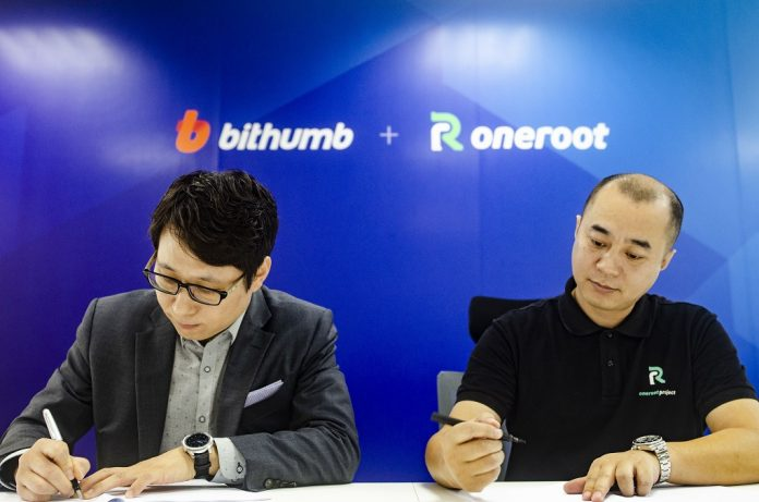 Bithumb Teams up with ONEROOT to Build Distributed Decentralized Exchange