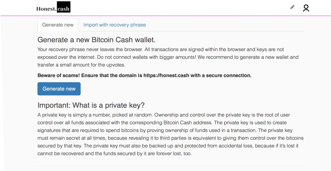 BCH App 'Honest Cash' Sees Significant Growth and Adds Native Wallet